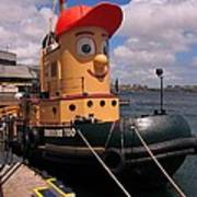 The Real Theodore Tug Boat Lives In Halifax Art Print