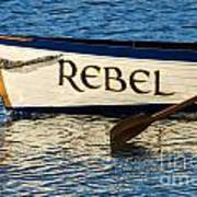 The Rebel Art Print