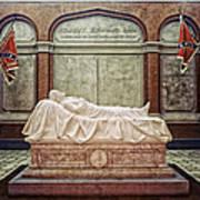 The Recumbent Robert E. Lee Art Print