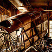 The Red Barn Of The Boeing Company II Art Print