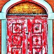 The Red Door Art Print