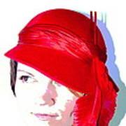 The Red Hat II Art Print