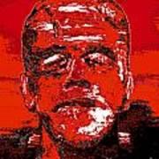 The Red Monster Art Print