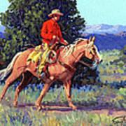 The Red Shirt Art Print