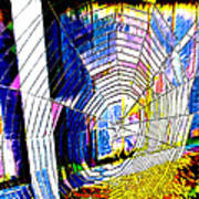 The Refracted Cobweb Art Print