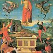 The Resurrrection Of Christ Art Print by Raphael