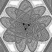 The Rh Molecule Art Print