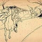 The Ride Of Paul Revere Art Print