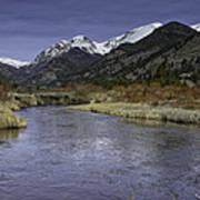 The River Flows Art Print by Tom Wilbert