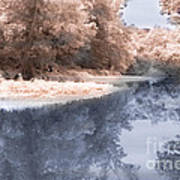 The River - Near Infrared Art Print
