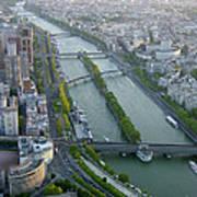 The River Seine Art Print