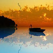 The Riverboat... Art Print