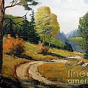 The Road Not Taken Art Print