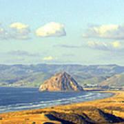 The Rock At Morro Bay Art Print