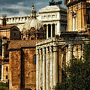 The Roman Forum 2 Art Print