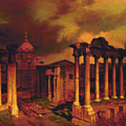 The Roman Forum Art Print