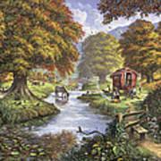 The Romany Camp Art Print