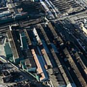 The Rooftops Of Arcelormittal Dofasco Art Print