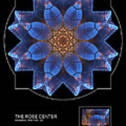 The Rose Center Art Print