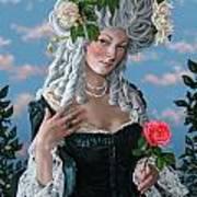 The Rose Of Marie Antoinette Art Print