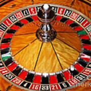 The Roulette Wheel Art Print