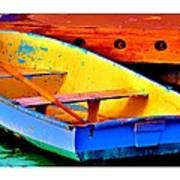 The Row Boat Art Print