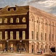 The Royal Couborg Theatre, 1826 Art Print