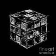 The Rubik's Cube Art Print