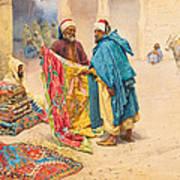 The Rug Merchant Art Print