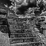 The Ruins Of Chichen Itza V2 Art Print