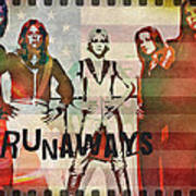 The Runaways - 1977 Art Print
