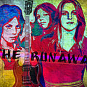The Runaways - Up Close Art Print