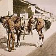 The Rural Guard Mexico Art Print