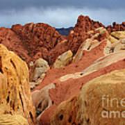 Valley Of Fire Nevada 1 Art Print