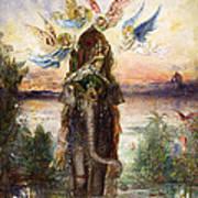 The Sacred Elephant Art Print