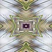The Sacred Pine Mandala Yantra Art Print