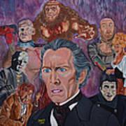 The Saga Of Frankenstein Art Print