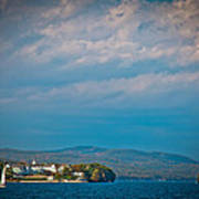 The Sagamore Hotel On Beautiful Lake George Art Print