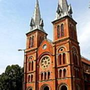 The Saigon Notre-dame Basilica Art Print