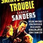 The Saints Double Trouble, Us Poster Art Print