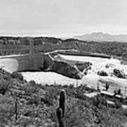 The Salt River In Arizona Art Print