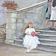 The San Gimignano Wedding Party Art Print