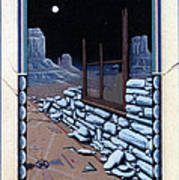 The Sand Painting Art Print