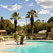 The Sandpiper Pool Palm Desert Art Print