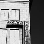 The Savoy Hotel Art Print