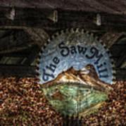 The Saw Mill Art Print