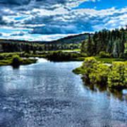 The Scenic Moose River Art Print