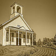 The Schoolhouse Hdr Art Print