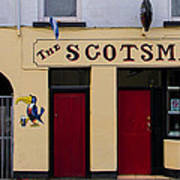 The Scottsmans Bar - Donegal Ireland Art Print