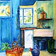 The Scullery  Art Print